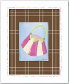 Purse Custom Framed Giclee Print