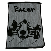 Racer Personalized Blanket