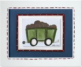 Railcar Custom Framed Giclee Print