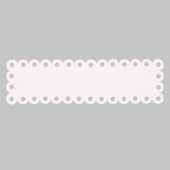 Rectangle Dot Magnet Board in Pink