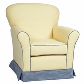 Regal Loose Cushion Adult Glider with Slipcover