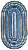 Regatta Braided Rug - Blue