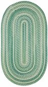 Regatta Braided Rug - Green