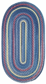 Regatta Braided Rug - Navy