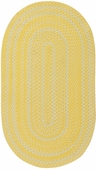 Regatta Braided Rug - Yellow