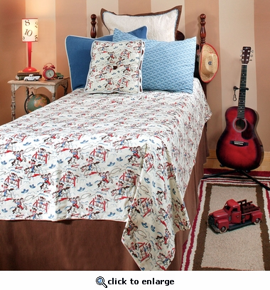 Retro Cowboy Bedding