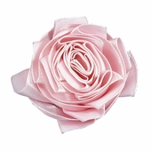 Ribbon Rose Magnet Set of 3 - Pink
