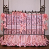 Rose Dior Crib Bedding