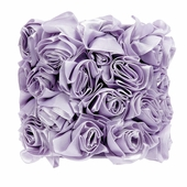 Rose Garden Lavender Drum Chandelier Shade