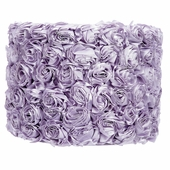Rose Garden Lavender Large Drum Lamp Shade