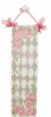 Rose in Gray Canvas Growth Chart