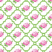 Rose Lattice Fabric