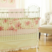 Roses for Bella 2-Piece Crib Bedding Set