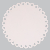Round Dot Magnet Board in Pink