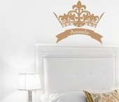 Royal Crown Custom Personalized Wall Decal