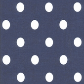 Royal Dot Blue Fabric