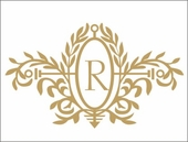 Royal Elegance Initial Custom Personalized Wall Decal