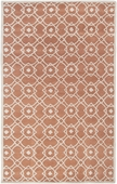 Rust Orange Goa Hand-Tufted Rug
