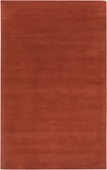 Rust Red Mystique Hand-Crafted Rug