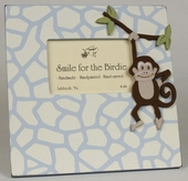 Safari Monkey Picture Frame