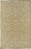Sage Green Diamond Damask Candice Olson Hand-Tufted Rug