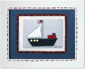 Sailboat Custom Framed Giclee Print