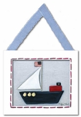 Sailboat Framed Giclee Print