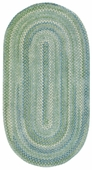 Sailor Boy Braided Rug - Green