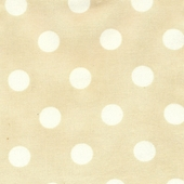 Sand Polka Dot Fabric