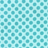 Sea Polka Dot Fabric