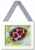 Sea Turtle Framed Giclee Print