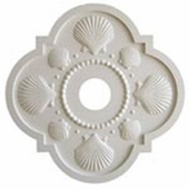 Seashell Chandelier Medallion