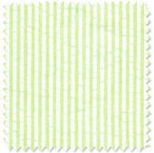 Seersucker Stripe Lime Fabric