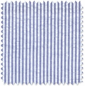 Seersucker Stripe Navy Fabric