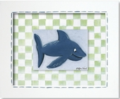 Shark Custom Framed Giclee Print