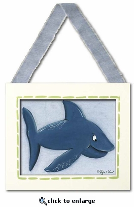 Shark Framed Giclee Print
