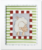 Sheep Custom Framed Giclee Print