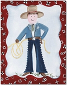 Sheriff Gallery Wrapped Stretched Giclee Canvas