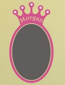 Sherri Blum Regal Jeweled Chalkboard Crown Wall Decal