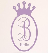 Sherri Blum Regal Jeweled Crown Wall Decal