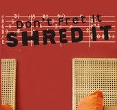 Shred It Custom Wall Decal