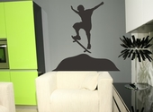 Skateboarder Custom Wall Decal