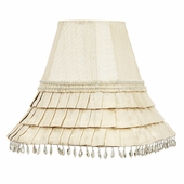 Skirt Dangle Ivory Medium Lamp Shade
