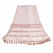 Skirt Dangle Pink Medium Lamp Shade