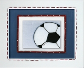 Soccer Ball Custom Framed Giclee Print