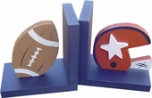 Solid Football Bookends