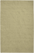 Split Pea Damask Sculpture Loomed Rug