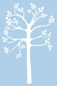Spring Tree Custom Wall Decal