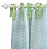 Sprout Curtain Panel Set