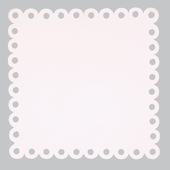 Square Dot Magnet Board in Pink